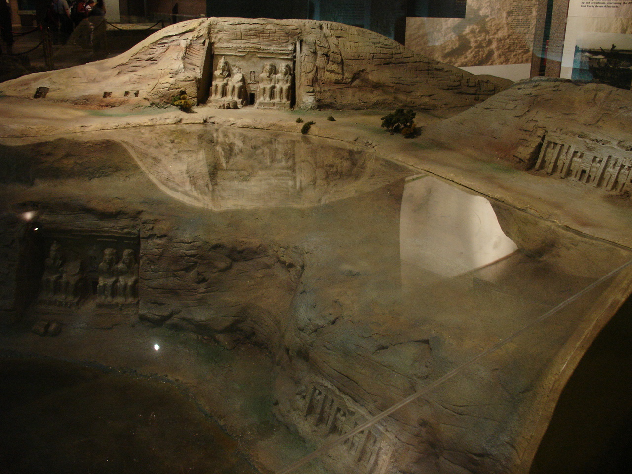 схема храма абу- симбел